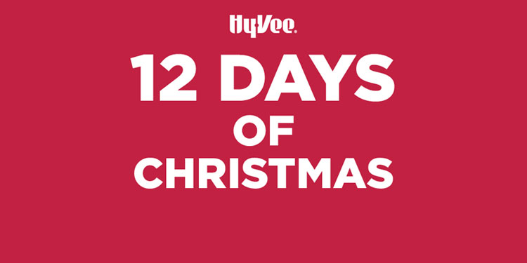 12 days of deals at Hy-Vee