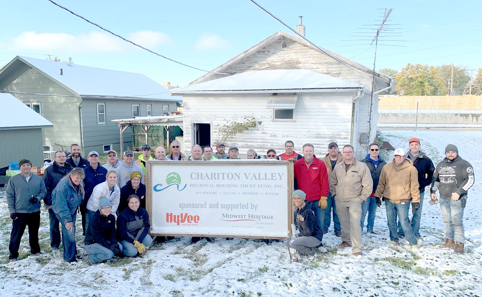 Chariton Housing Revitalization Project Sells First Batch of Renovated Homes; More Houses to be on the Market Soon