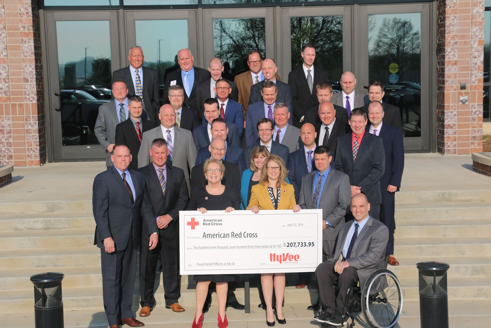 Hy-Vee Raises $207,733 for Flood Relief Efforts in Nebraska and Iowa