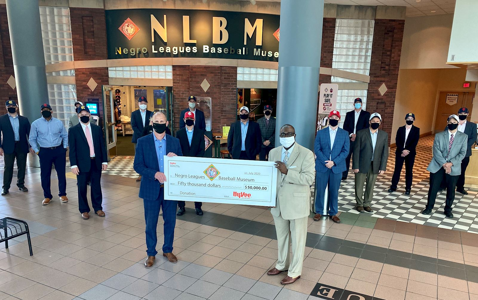 Hy-Vee Announces $50,000 Donation to the Negro Leagues Baseball Museum